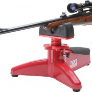 MTM Front rest with rifle