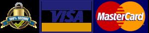 Visa mastercard Secure Logo 100x439