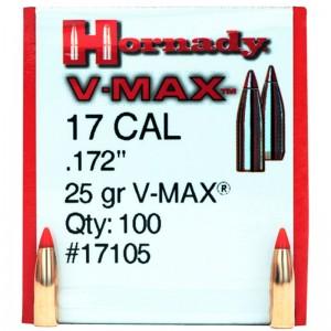 Hornady 17 25gr V-MAX Box