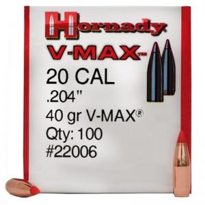 Hornady 204 40gr V-MAX Box