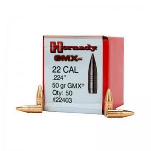 Hornady 22 50gr GMX Box