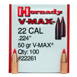 Hornady 22 50gr V-MAX Box