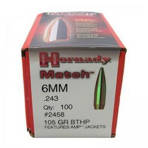 Hornady 243 105gr BTHP Match Box