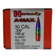 Hornady 308 168gr BTHP Match Box