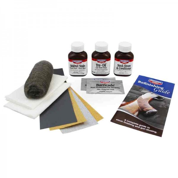 Birchwood Caseys Tru Oil finishing kit