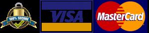 Visa mastercard Secure Logo