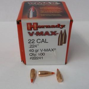 Hornady 22 40gr V-MAX Box