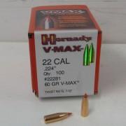 Hornady 22 60gr V-MAX Box