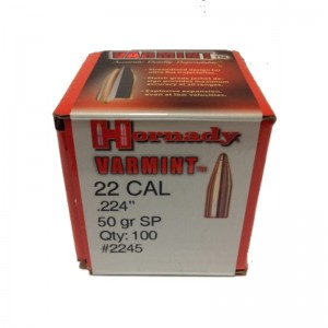 Hornady 224 50gr SP Varmint Box