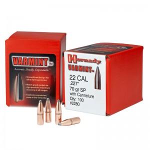 Hornady 227 70gr WC Varmint Box